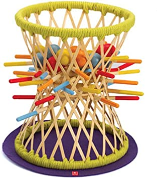 Amazon.com: Hape Pallina Game in Bamboo: Toys & Games