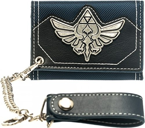 Metal Badge Chain Wallet - Nintendo Zelda Metal Badge Chain Wallet