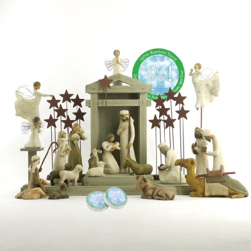 Willow Tree 25 Piece Nativity Set by Willow Tree