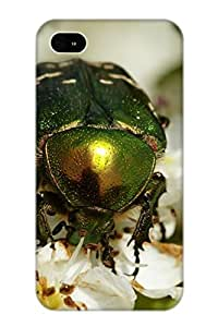 Ellent Design Animal Insect Case Cover For Iphone 4/4s For New Year's Day's Gift