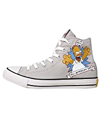 Converse Men's Chuck Taylor All Star, GREY/RED/YELLOW