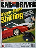 Car and Driver September 1998 (Trigger-Finger Shifting Bridging the chasm between manual and automatic transmission Porsche 911 Tiptronic S vs. Ferrari F355 F1, Volume 44 No.3)