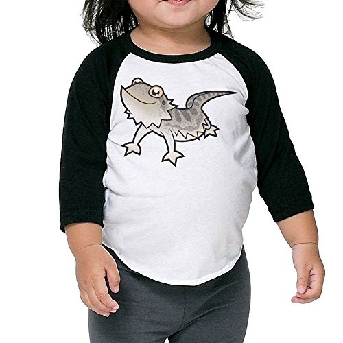 Bearded Dragon Costumes For Sale (SH-rong Cartoon Bearded Dragon Toddler Essential Tshirt Size3 Toddler)