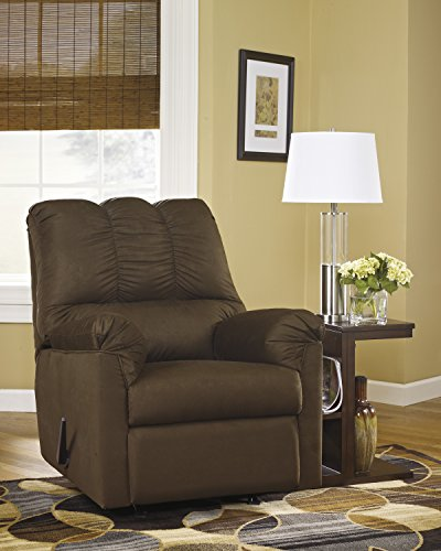 Darcyl DuraBlend Contemporary Cafe Microfiber Rocker Recliner Chair