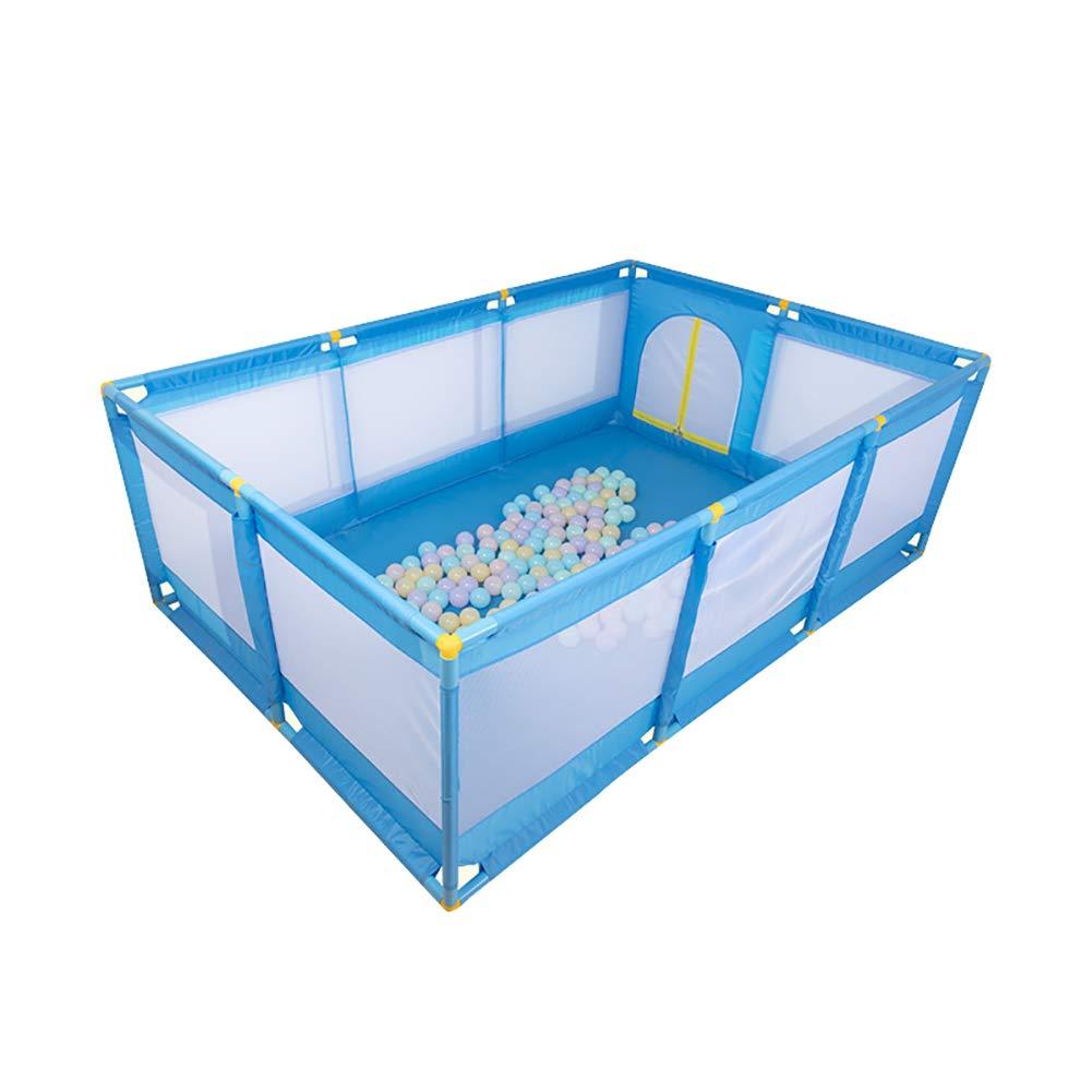 赤ちゃん/幼児/新生児/幼児/ペットのための遊び場、屋内外のポータブル、フィットフロアマット&ハンドキャリートラベルバッグ付 (色 : 青, サイズ さいず : Standard) Standard 青 B07KXVGSRZ