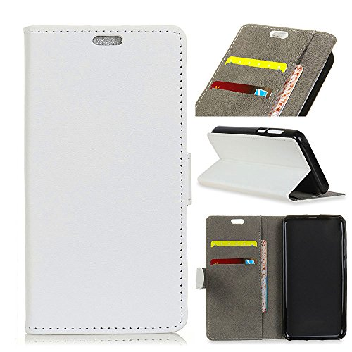 (TOTOOSE Wiko Tommy 3 Case,Wiko Tommy 3 Case,Replacement Premium PU Leather Wallet Snap Case Replacement Replacement Flip Cover for Wiko Tommy 3 White)