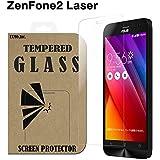 ZenFone 2 Laser ガラスフィルム 5.0インチ ZE500KL ASUS 液晶保護 透明 強化 国産ガラス使用 ラウンドエッジ加工 Tempered Glass Film クリア [EXMO,Inc.] EX-ZF2LS-GLASS-CL