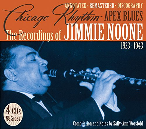 CD : Jimmie Noone - Chicago Rhythm 1923-43 (Remastered, Boxed Set, 4 Disc)