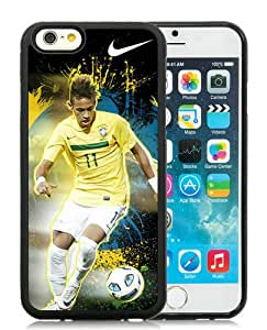 Hot Sale iPhone 6S Case,Neymar 75 Black iPone 6/6S 4.7 inches Screen TPU Cover Case Fashion and Popular Design