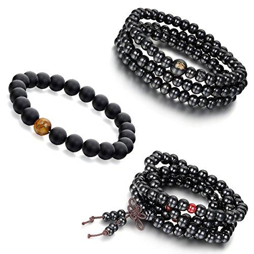 Aroncent Sandal Buddhist Bracelet Religious product image