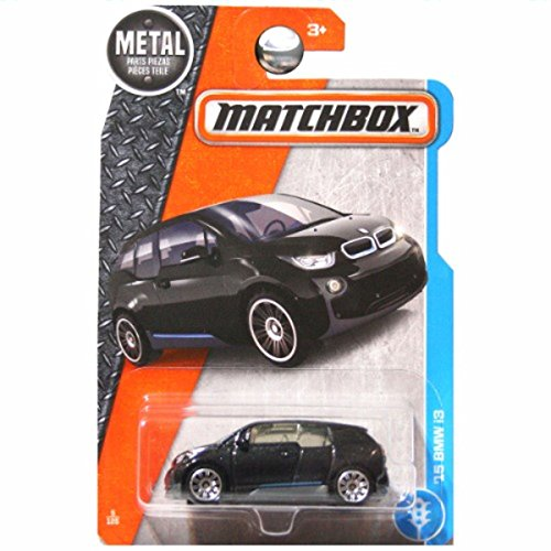 Matchbox 2017 Adventure City '15 BMW i3 5/125, Black