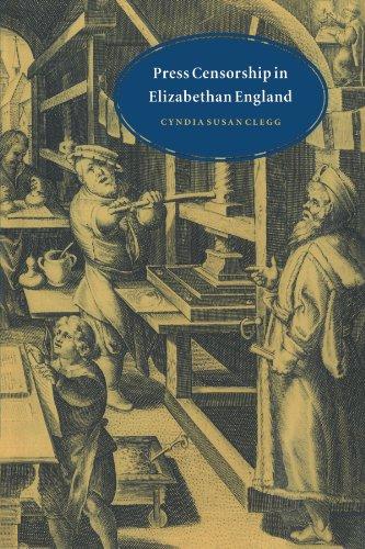 Press Censorship in Elizabethan England