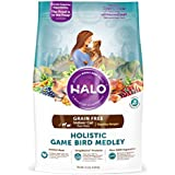 Halo Grain Free Natural Dry Cat Food, Indoor Healthy Weight Game Bird Medley, 11.5-Pound Bag