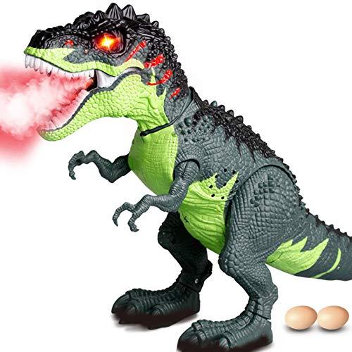 Lljin Walking Dragon Toy Fire Breathing Water Spray Dinosaur - Blue Dragon Breathing Fire