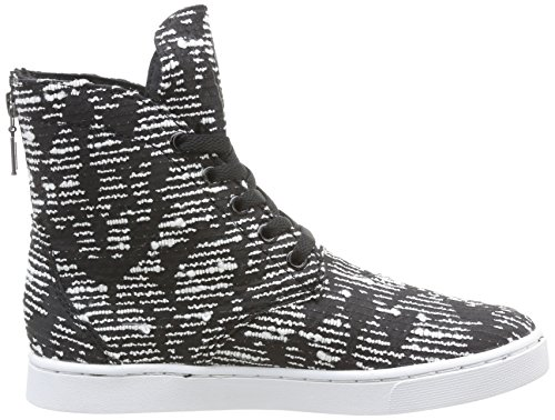 Joplin Sneaker Supra 8rzyzqz Noir White Pattern Nero Donna Black X5wfvn0gq