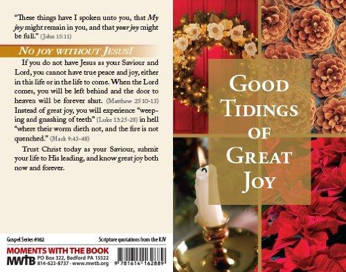 Good Tidings of Great Joy (Packet of 100, KJV) Photo #2