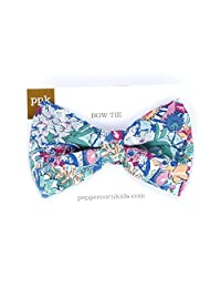 Peppercorn Kids Boys Tropical Floral Bow Tie-Tropical/Multicolor-Small(2-6y)