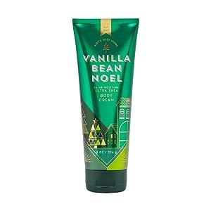 Bath & Body Works Vanilla Bean Noel Ultra Shea Body Cream, 8 Ounce, Multicoloured