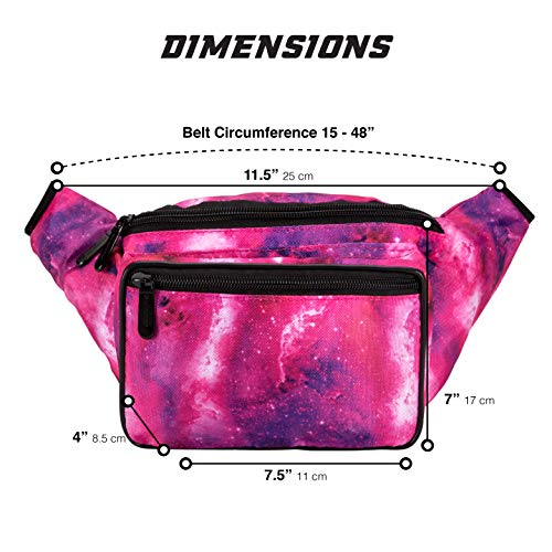 5d49e1f5c SoJourner Galaxy Rave Fanny Pack - Packs for festival women, men | Cute  Fashion Waist