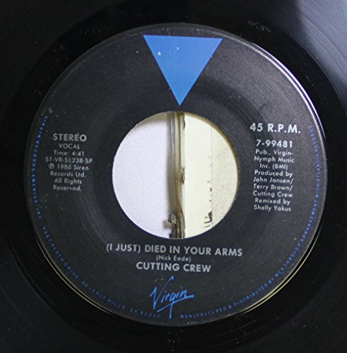 Cutting Crew - I Just) Died in Your Arms - Zortam Music