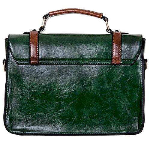 Banned - Bolso estilo cartera para mujer verde verde talla única
