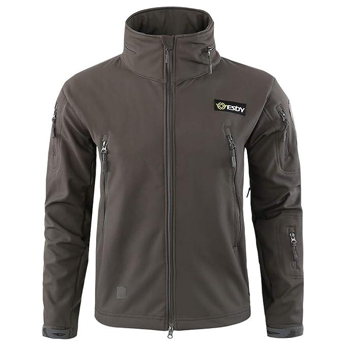 345d4aa81fb810 Dragon868 Herren Kapuzenjacke Hoodie Winddichte warme Outdoor-Mantel Jacke  Sport Uniform SAMT Overalls: Amazon.de: Bekleidung