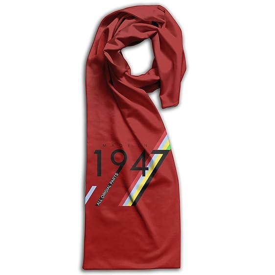 Fever Stylish Warm Scarf 70th Birthday Gifts Made 1947 Wrap ShawlScarf Fashion Print Shawl For