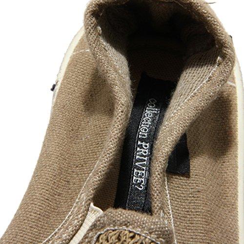 Men Espadrillas Privee Collection Scarpe Shoes 2058o Uomo Beige 0wZqZE