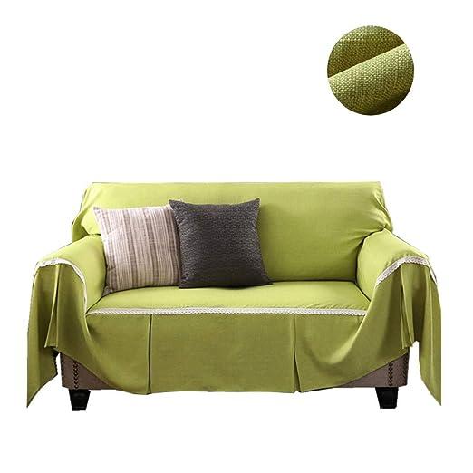 Manta Cubierta de Funda del sofá Elegante Encaje Plisado ...