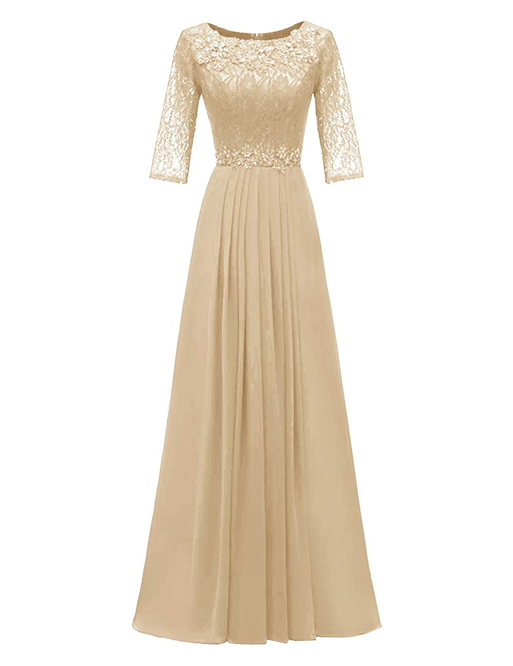 Champagne H.S.D Evening Dresses Long Prom Dresses Lace Bridesmaid Dresses Evening Formal Gowns