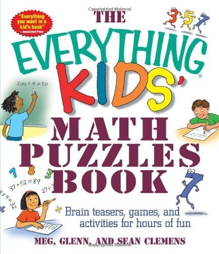 The Everything Kids: Math Puzzles Book by Meg Clemens (2004-01-01)