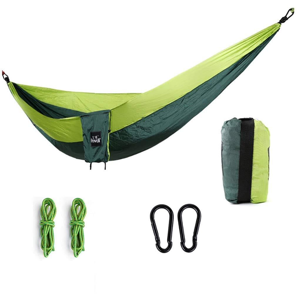 QETYHH Freizeit-Camping-Fallschirm-Schaukel der Freizeit der Hängematte kampierender Fallschirm (Farbe   A)