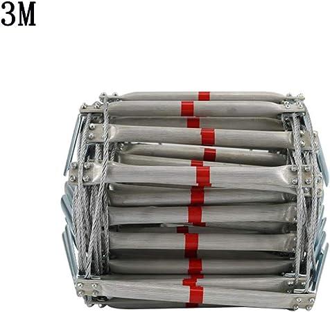 Escalera De Cuerda Escape Emergencia Escalera De Seguridad Escala De para Adultos Hogar Al Aire Libre Escalera De Ingeniería,OneColor-3M: Amazon.es: Hogar