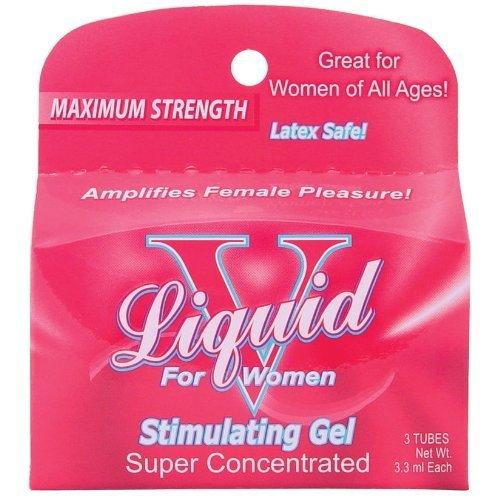 1 LIQUID V for women stimulating gel enhancement female latex safe virgin by Liquid V