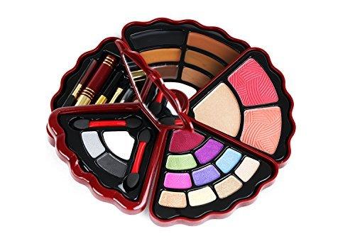 BR- All in one Makeup Set - Eyeshadows, Blush, Lip gloss and Mascara ()
