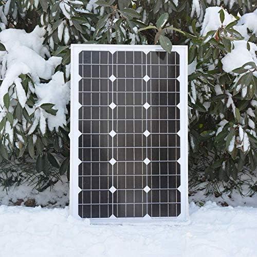 zhangchao 12V80W Solar-Panel Photovoltaik-Panel Power Generation Haushalt monokristallinem Silizium Solar Charging Brett Lade 12V Batterie