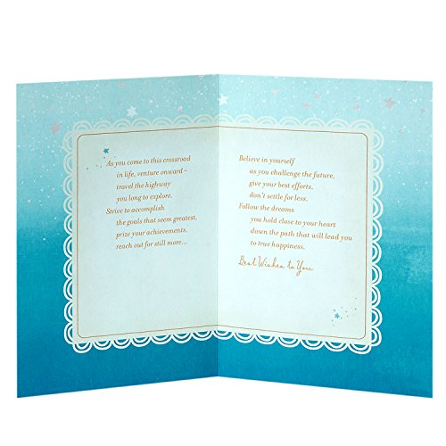 Hallmark Graduation Greeting Card (Believe in Yourself as You Challenge the Future) Photo #3