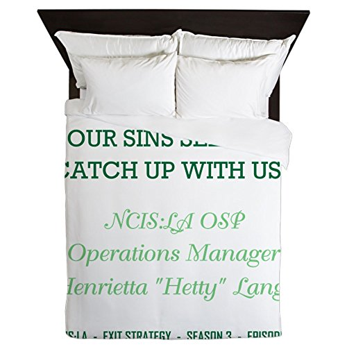 CafePress - SOONER OR LATER - Queen Duvet Cover, Printed Comforter Cover, Unique Bedding, Microfiber by CafePress