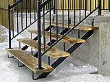 MTB Steel Stair Step Riser - 4 Step for Deck Height