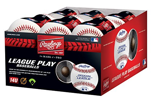 Rawlings USSSA League Play Baseballs, (Box of 24), R14UUSSSASW2-24 by Rawlings