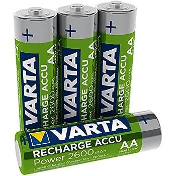 Amazon.com: DLC AA NiMH Rechargeable Batteries, 2600mAh, 2
