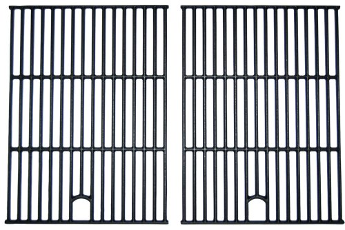 Music City Metals 67692 Matte Cast Iron Cooking Grid Replacement for Select (26 Grid)
