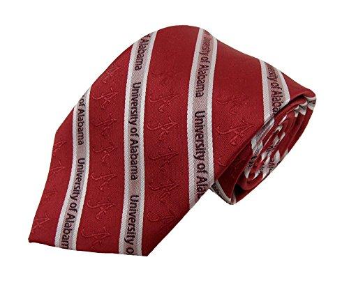 NCAA Alabama Crimson Tide Prep Necktie, One Size, Crimson - Alabama Crimson Tide Tie
