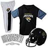 Jacksonville Jaguars Youth NFL Deluxe Helmet and Uniform Set