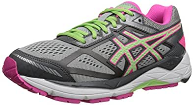 ASICS Women's Gel-foundation 12 Running Shoe, Silver/Pistachio/Pink Glow, 6 D US
