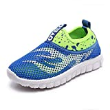 Super explosion Boys Girls Sneakers Kids Sports Running Shoes Comfortable Lightweight(Blue 【36】 US 3.5 (22cm))