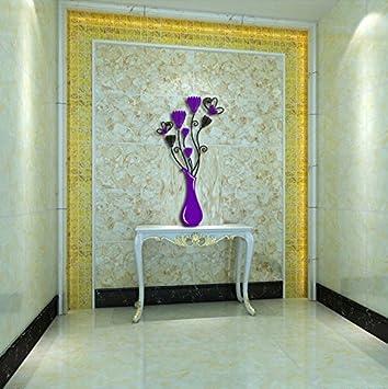 GOUZI Tv Mauer 3 D Acryl Crystal Stereo Restaurant Büro Wandhalterung  Fernseher Sofa, Kleine Tiefe