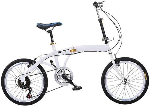 lHishop Bicicleta Plegable Bicicleta Liviana para Adultos Tren De ...