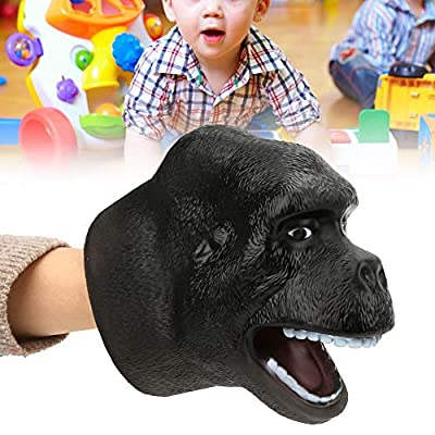 Tnfeeon Hand Puppet Orangutan, Animal Head Hand Puppet Toys Simulating Animal Shaped Orangutan Hand Doll Toy Role Play Props: Toys & Games