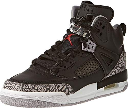 Jordan Spizike BG  Black//Varsity Red-Cement Grey 317321-034 Youth Size/'s